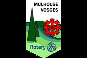 Fanion du Rotary Club Mulhouse Vosges