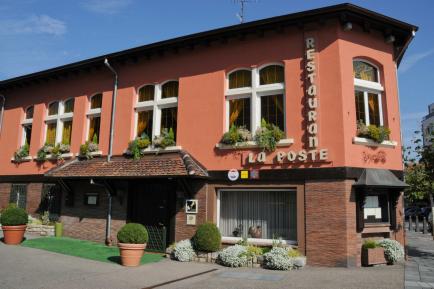Le restaurant La Poste - Kieny à Riedisheim