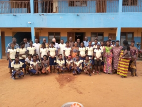 7 mai 2019 - Avec les élèves du Centre Ibaretta de Bohicon